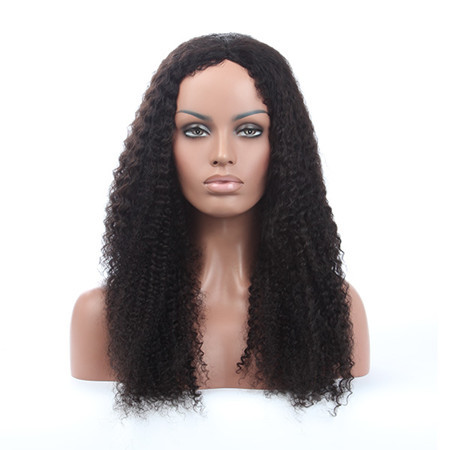 Noblest Hair 22inch Wholesale Cheap Raw Brazilian Virgin Human Hair Lace Wig Brazilian Kinky Curly Lace Front Wig With Baby Hair