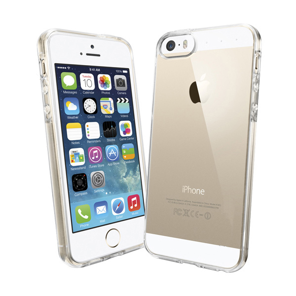 BRG Wholesale Premium Quality Crystal Transparent Cover for iPhone 5s