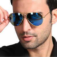 Hot selling 2014 Newest Polarized Aviator Mirror Sunglasses 3026