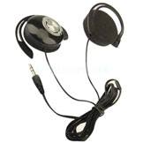 Sport Earphone Clip On Sports Stereo Headphones Earphone MP3 MP4 Player
