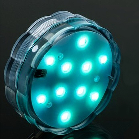 China Led Submersible Light for Paper Lantern with Remote