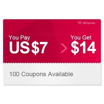 AliExpress US $14.00 Coupon can be used on a single transaction over US$49