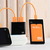 Xiaomi Black Dual USB Charger Power Adapter ForXiaomi Mi2 M1 1S USB Date Charge Cable
