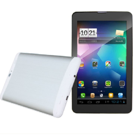 Free Shipping 7inch Tablet PC 3g Sim Card Slot Phone Calling Mtk6572 Dual Core Bluetooth GPS Android4.2