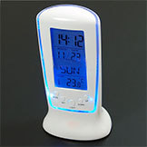 Digital LCD Alarm Clock Calendar Thermometer Backlight