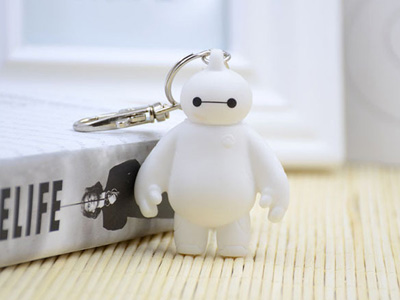 Chaveiro do Big Hero 6 Baymax
