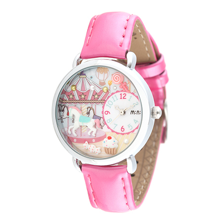 MN964 Colorful Bracelet Rainbow Watch For Kids