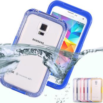 Для Samsung Galaxy S3 S4 S5 водонепроницаемый чехол дайвинг подводные влагонепроницаемой герметичной обложка универсальный жесткий PC + TPU полный ясно водонепроницаемый
