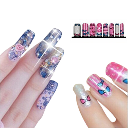 BIN 2015 newest NFC Nail Art Sticker