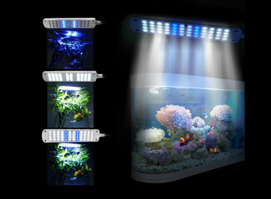 LED Aquarium Clip Lamp White
