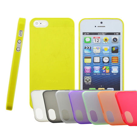Hot Selling 0.2mm Ultrathin Case For iPhone 5 5s