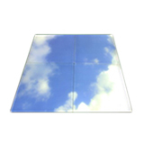 Blue Sky Picture Displaying 6000K White Lighting Color Frameless Led Ceiling Panel 60x60cm 36w