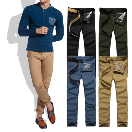 2014 Hot Sale Wholesale Fashion Men's Pants Long Trousers 10022