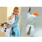 Kids' Cotton Olaf Plush Doll from Movie Frozen 30cm