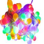 Гирлянда 10 м с 60 светодиодными круглыми лампочками