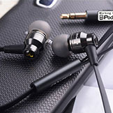 Awei Es800m 3.5mm In-Ear Earphones Super Clear Bass Metal Headphone Noise Isolating Earbud MP3 MP4 Mobile