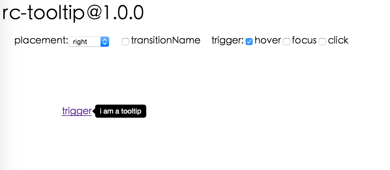rc-tooltip - npm